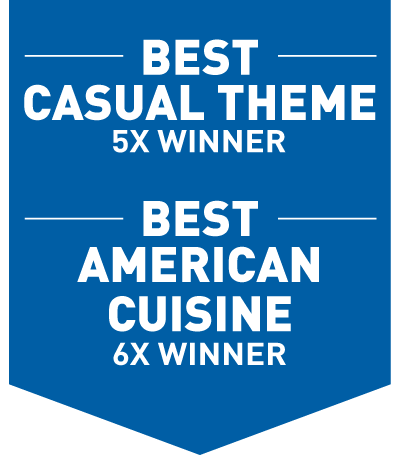 Best American Cuisine, Best Casual Theme