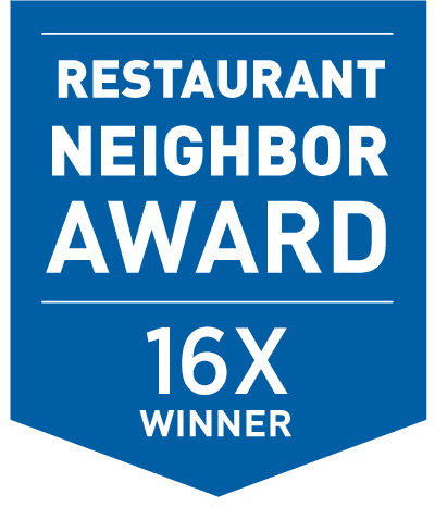 Glory Days Grill is a fifteen-time winner of the Restaurant Neighbor Award