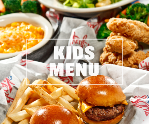 Clickable Banner of the Glory Days Grill kids menu