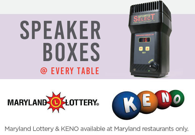 Speaker Boxes, MD Lottery